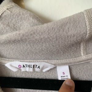 Athleta Dresses - Athleta Pimlico Cowl Lounge Sweatshirt Dress